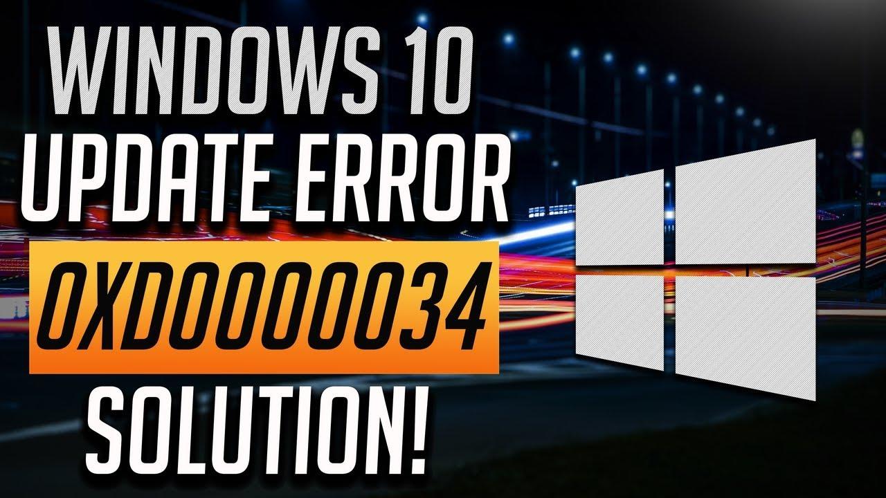 10 update installation failed