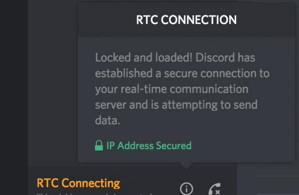 Discord RTC Connecting?