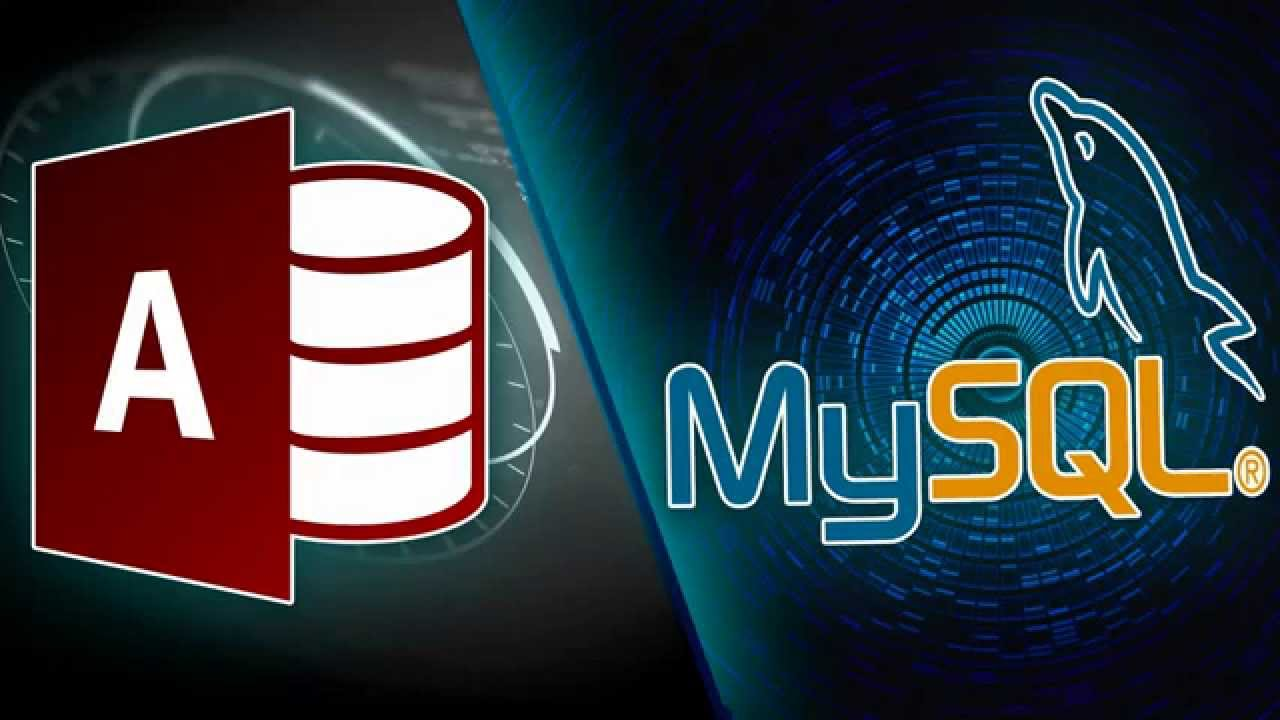 Migrate from Microsoft Access to MySQL