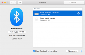 Unpair your Bluetooth devices