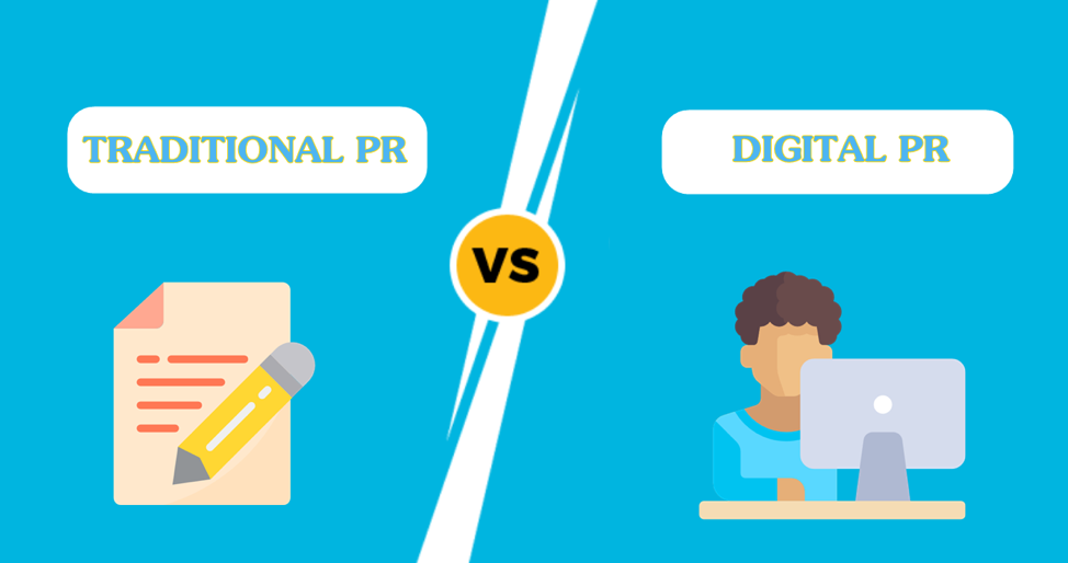 What's The Difference Between Traditional PR and Digital PR?