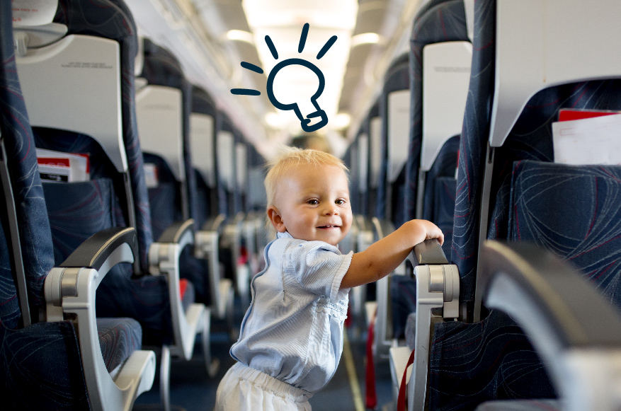 How to Travel With Children in the Plane
