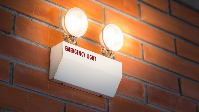 Emergency LED lighting